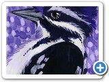 Artist Card Original: Woodpecker