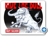 Ride the bull t shirt design and illustration