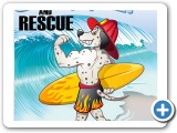 Huntington Beach Fire Department poster